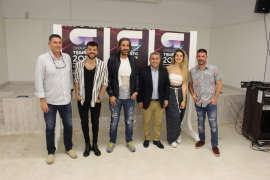 Gori Ferrà, Ricky Merino, Joe Pérez, Virgilio Moreno, Mimi Doblas y Toni Peña.