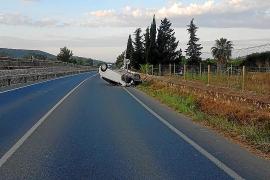 Dos heridos en sendos accidentes en Santa Gertrudis y el cruce de los Cazadores
