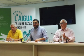 Luis Berbiela, Vicenç Vidal y Pere Perelló