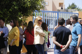 Visita de Armengol  al centro de Amadiba en Sant Josep (Fotos: Arguiñe Escandón).