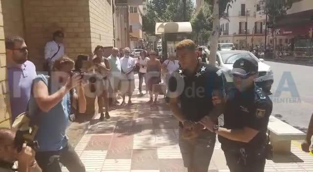 Pasan a disposición judicial los futbolistas ingleses detenidos por una agresión sexual en Ibiza