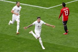 Giménez salva el estreno de Uruguay sobre la bocina
