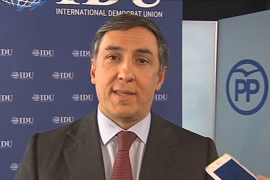 El portavoz de Exteriores del PP presentará su candidatura a presidir el partido