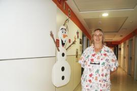 Marisa Benito: «Una buena enfermera tiene que hablar con el paciente; tener un trato personalizado»