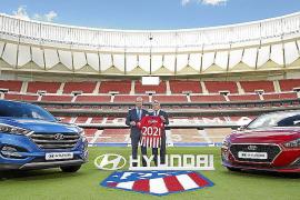 Hyundai Motor, nuevo patrocinador oficial del Club Atlético de Madrid