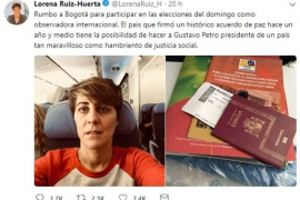Colombia abre expediente a Ruiz-Huerta y podrían prohibirle entrar al país cinco años