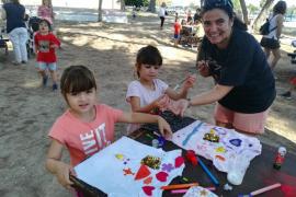 El colegio de Puig d'en Valls celebró un año más su fiesta de la convivencia y el medio ambiente