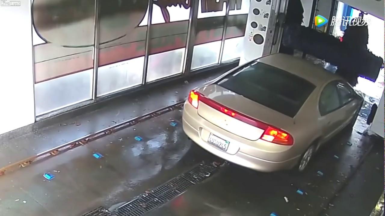 Un vídeo muestra por qué se deben seguir las instrucciones en un túnel de lavado