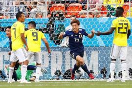 Colombia se condena en su debut ante Japón