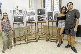 La Escola d'Arts d'Eivissa se transforma en una gran galería de arte