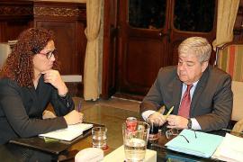 Armengol resta hierro al anuncio de Pedro Sánchez de que no habrá nueva financiación