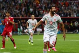 Carambola de Diego Costa para ganar y sufrir con Irán