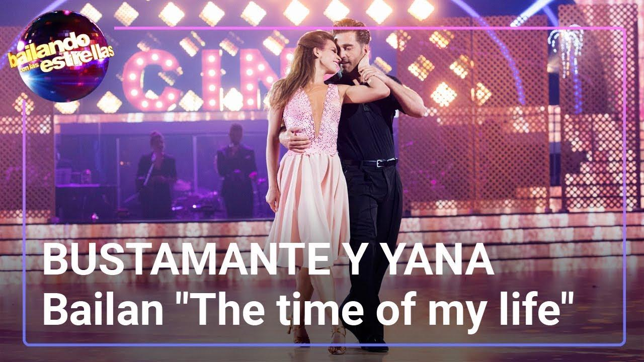David Bustamante y Yana Olina bailan el tema principal de 'Dirty Dancing'