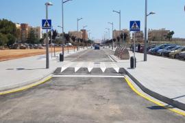 Santa Eulària abre al tráfico el nuevo tramo urbano de la calle Sant Joan