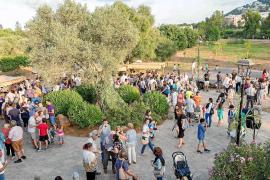 La Nit de Sant Joan más reivindicativa junto al Pont Vell de Santa Eulària