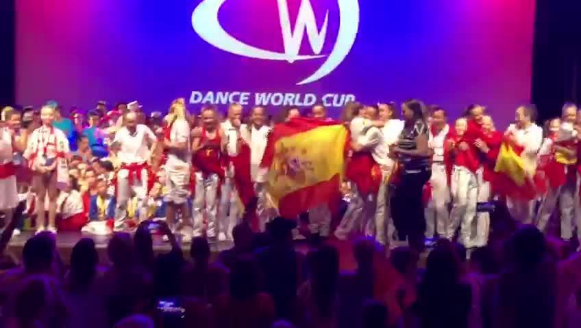 DVP Dancers logran dos medallas de oro en el Dance World Cup de Sitges