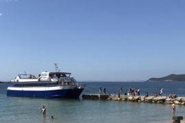 El PP critica que la playa de ses Figueretes está «escasamente balizada»