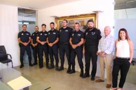 Seis nuevos agentes para la Policía Local de Sant Antoni