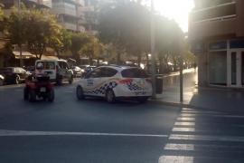 Detenido un joven de 25 años que forzó dos días seguidos la misma motocicleta en Ibiza