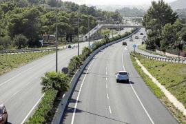 En estado crítico un motorista de 30 años tras un accidente de tráfico en Ibiza