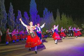 Gran éxito de convocatoria del XVIII Festival Folklòric de Santa Gertrudis