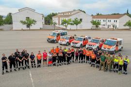 Más de 60 voluntarios de Protección Civil participan en un simulacro de 12 horas