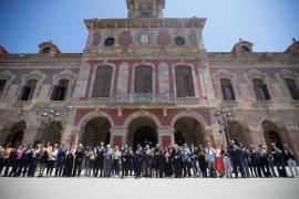 Declaración institucional del Gobierno catalán
