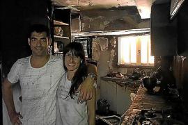 Incendio en casa de Andreu Genestra y Xisca Capó