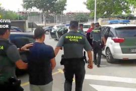 Prisión para dos jóvenes cazados con un alijo de 15 kilos de 'cristal' con destino a Ibiza