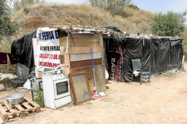 Habitantes de las chabolas de sa Joveria denuncian la presencia de proxenetas