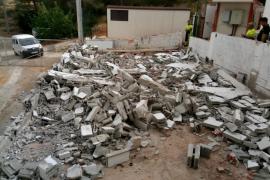 Sant Josep derriba las instalaciones de la desaladora de ses Eres