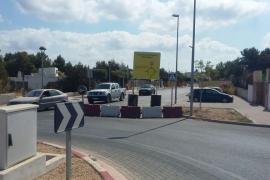Nuevo retraso en la apertura del carril de Cala de Bou