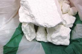 Ingresa en prisión un joven interceptado con una roca de 100 gramos de cocaína