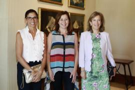 Francina Armengol recibe a la nueva directora territorial de CaixaBank en Baleares