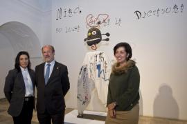 Una exposición en Valladolid muestra cómo Miró satirizó la dictadura de Franco