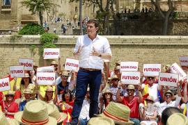 El independentismo catalán y el terrorismo centran el acto de Ciudadanos en Palma
