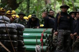 Rescatados otros tres niños del grupo atrapado en una cueva en Tailandia