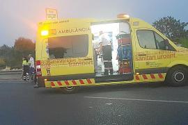 Cuatro heridos, uno de ellos grave, en sendos choques entre coches y motos