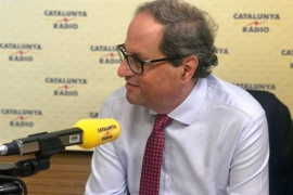 """Torra a Pedro Sánchez sobre recurrir al TC la moción del 9N: """"Empezamos mal, presidente"""""""