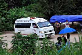 Rescatados con éxito los 12 niños y su monitor atrapados en Tailandia