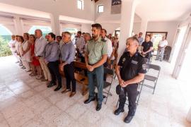 Treinta personas asisten a la misa por San Cristòfol oficiada por el obispo Vicente Juan Segura