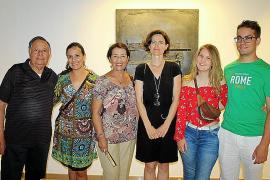 Exposición de Vicenta Valenciano en la Galería Vanrell