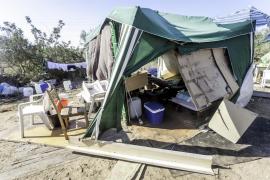 El Área de Salud, preocupada por la cercanía del asentamiento de sa Joveria al helipuerto