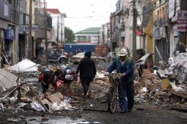 Chile intenta restablecer los servicios básicos