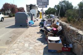 No recogida de basuras