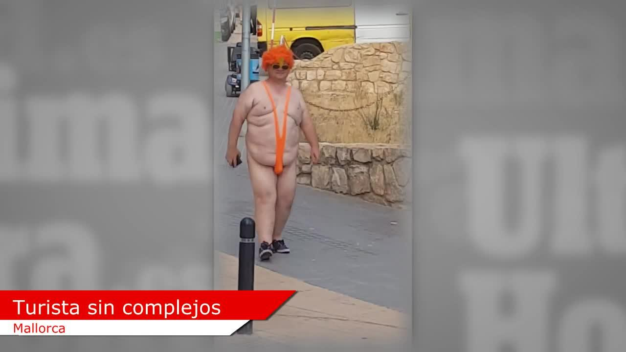 Sin vergüenza ni pudor, desmadre turístico en Mallorca