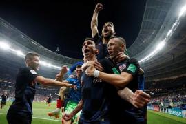 Croacia se cuela en la final del Mundial de Rusia