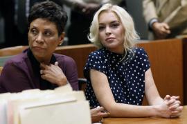 Lindsay Lohan disfruta de una  fiesta nocturna antes de ingresar en prisión