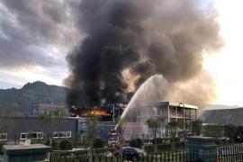 Al menos 19 muertos por la explosión de una planta química en China