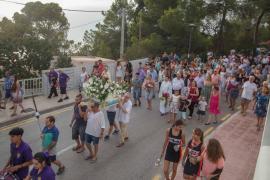La fiesta en honor a la Virgen del Carmen en Portinatx, en imágenes (Fotos: Mohamed Chendri).